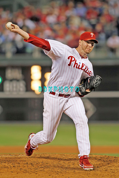 September 19, 2011, Philadelphia, Pennsylvania, U.S. ROY HALLADAY, #34 pitcher of the Phillie's delivers a pitch to home plate during the game between the Phillie's and the St. Louis Cardinals at Citizens Bank Park, Philadelphia, PA. The Cardinals defeated the Phillie's 4-3.