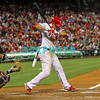 September 19, 2011, Philadelphia, Pennsylvania, U.S.  PLACIDO POLANCO,  #27 3rd baseman of the Phillie's jumps out of the way from an inside pitch during the game between the Phillie's and the St. Louis Cardinals at Citizens Bank Park, Philadelphia, PA. The Cardinals defeated the Phillie's 4-3.