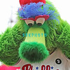July 31, 2011 Philadelphia Phillie's mascot The Phanatic holds his ears in jest to the roar of the Phillie's fans during the game against the Pittsburgh Pirate's at Citizens Bank Park in Philadelphia, PA. The Phillie's defeated the Pirates 6-5 in 10 innings. <br /> (Credit Image: ©  Donald B. Kravitz