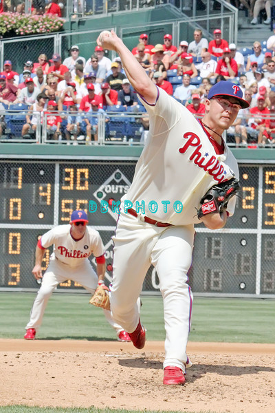 July 31, 2011 Philadelphia Phillie's, Vance Worley. pitcher, #49, fires a pitch to home plate during the game against the Pittsburgh Pirate's at Citizens Bank Park in Philadelphia, PA. The Phillie's defeated the Pirates 6-5 in 10 innings. <br /> (Credit Image: ©  Donald B. Kravitz