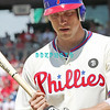July 31, 2011 Philadelphia Phillie's, outfielder, Hunter Pence, #3 walks to home plate during the game against the Pittsburgh Pirates' at Citizens Bank Park in Philadelphia, PA. The Phillie's defeated the Pirates 6-5 in 10 innings. <br /> (Credit Image: ©  Donald B. Kravitz
