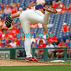 27 July 2008: Philadelphia Phillies' ace relief pitcher Brad Lidge (54) keeps his balance after firing a pitch to home plate late in the game against the Atlanta Braves. Philadelphia went on to win defeating the Brave 12-10 in Citizens Bank Stadium in Philadelphia, PA