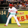 25 August 2008: Philadelphia Phillies' 1st baseman Ryan Howard (6) takes a lead off of 3rd base during the game against the Los Angeles Dodgers. The Phillies defeated the Dodgers 5-0 in Citizens Bank Stadium in Philadelphia, PA