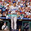 25 August 2008: Los Angeles Dodgers' 3rd baseman Casey Blake (30) walks to the plate in the game against the Philadelphia Phillies. The Phillies defeated the Dodgers 5-0 in Citizens Bank Stadium in Philadelphia, PA