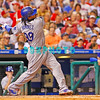 25 August 2008: Los Angeles Dodgers' Leftfielder, Manny Ramirez (99) swings and misses in the game against the Philadelphia Phillies. The Phillies defeated the Dodgers 5-0 in Citizens Bank Stadium in Philadelphia, PA