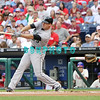 September 15,2011 - Philadelphia, Pennsylvania, U.S. - Florida Marlins infielder GREG DOBBS #29 in action during the game between the Phillie's and the Marlins at Citizens Bank Park, Philadelphia, PA. The Phillie's defeated the Marlins 3-1.