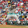 September 15,2011 - Philadelphia, Pennsylvania, U.S. - Florida Marlins pitcher RYAN WEBB #58 delivers a pitch during the game between the Phillie's and the Marlins at Citizens Bank Park, Philadelphia, PA. The Phillie's defeated the Marlins 3-1.