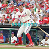 September 15,2011 - Philadelphia, Pennsylvania, U.S. - Philadelphia Phillie's HUNTER PENCE, #3 outfielder of the Phillie's,  in action during the game between the Phillie's and the Marlins at Citizens Bank Park, Philadelphia, PA. The Phillie's defeated the Marlins 3-1.