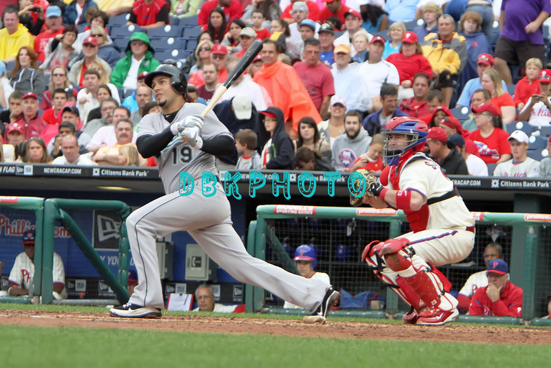 September 15,2011 - Philadelphia, Pennsylvania, U.S. - Florida Marlins pitcher ANIBAL SANCHEZ #19  in action during the game between the Phillie's and the Marlins at Citizens Bank Park, Philadelphia, PA. The Phillie's defeated the Marlins 3-1.