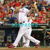 August 23, 2011  Phillies' Vance Worley. Pitcher, #49, strikes out during the game against the Philadelphia Phillies' at Citizens Bank Park in Philadelphia, PA. The Philadelphia Phillie's beat the New York Mets  9-4.