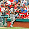 May 23, 2010  Boston Red Sox catcher Victor Martinez #41 catches a pop up