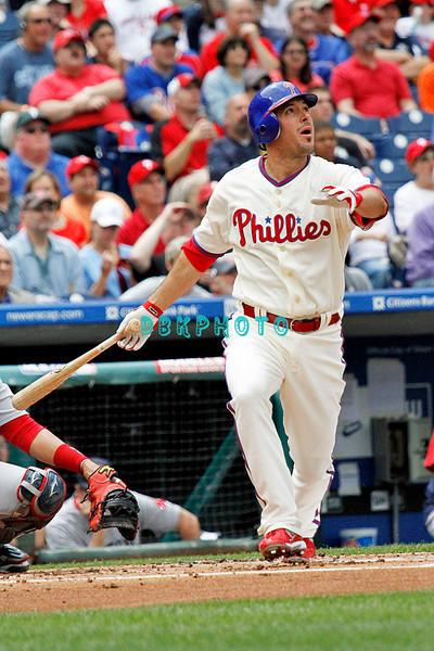 May 23, 2010  Philadelphia  Phillies'  infielder Greg Dobbs #19 rt Media
