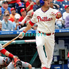 May 23, 2010  Philadelphia  Phillies'  infielder Greg Dobbs #19 rt Media