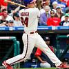 May 23, 2010  Philadelphia  Phillies'  catcher Paul Hoover, #24 l