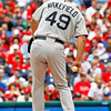 May 23, 2010  Boston Red Sox pitcher  Tim Wakefield #49