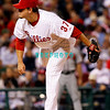 23 September 2008: Philadelphia Phillies' releif pitcher Chad Durbin (37) comes in late in the game against the Atlanta Braves. Atlanta went on to win defeating the Phillie's 3-2 in Citizens Bank Stadium in Philadelphia, PA
