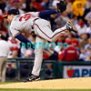 23 September 2008: Atlanta Braves starting pitcher Mike Hampton (32) delivers a pitch in the game against the Philadelphia Phillie's. Atlanta went on to win defeating the Phillie's 3-2 in Citizens Bank Stadium in Philadelphia, PA