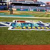 30 September 2008:  The Philadelphia Phillie's and Milwaukee Brewers took the day before the first play off game to hold press conferences and a light field workout at Citizens Bank Stadium in Philadelphia,  PA