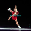 """Japanese World Champion Gold Medalist, Yuka Sato performing in Caesars Tribute II """"A Salute to the Ladies of the Ice skating show and tribute to Peggy Flemming."""
