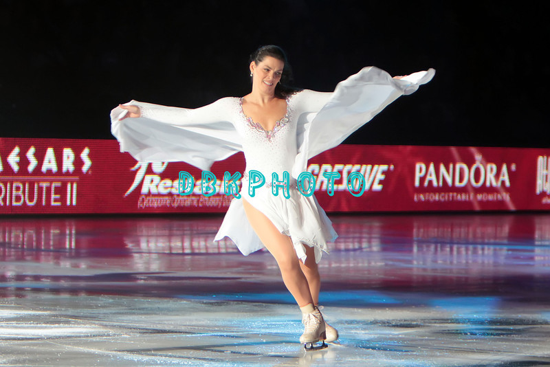 """US Olympic Silver Medalist, Nancy Kerrigan performing in Caesars Tribute II """"A Salute to the Ladies of the Ice skating show and tribute to Peggy Flemming."""
