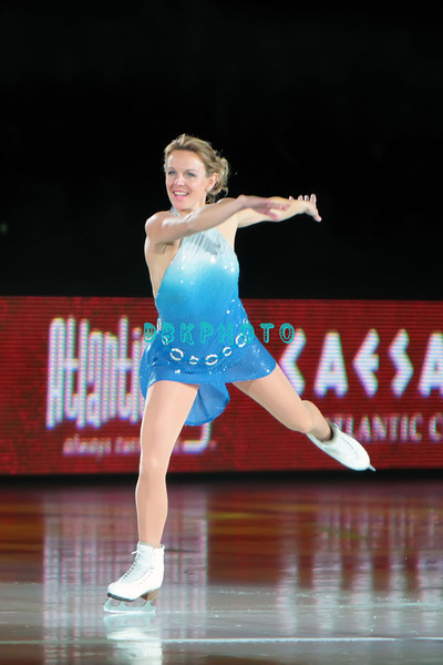 """Russian Olympic Champion Ekaterina """"Katia"""" Gordeeva, performing in Caesars Tribute II """"A Salute to the Ladies of the Ice skating show and tribute to Peggy Flemming."""