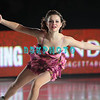 "US Olympic Silver Medalist Sasha Cohen performing in Caesars Tribute II ""A Salute to the Ladies of the Ice skating show and tribute to Peggy Flemming."