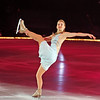 """ATLANTIC CITY, NJ - DECEMBER 11:  Caryn Kadavy skates at 'A Salute to the Golden Age of American Skating""""  at Boardwalk Hall Arena on December 11, 2010 in Atlantic City, New Jersey.  () *** Local Caption *** Caryn Kadavy"""