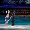 """ATLANTIC CITY, NJ - DECEMBER 11:  Calla Urbanski and Rocky Marval skates at 'A Salute to the Golden Age of American Skating""""  at Boardwalk Hall Arena on December 11, 2010 in Atlantic City, New Jersey.  () *** Local Caption *** Calla Urbanski and Rocky Marval"""