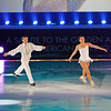 """ATLANTIC CITY, NJ - DECEMBER 11:  Nancy Kerrigan and Paul Wylie skates at 'A Salute to the Golden Age of American Skating""""  at Boardwalk Hall Arena on December 11, 2010 in Atlantic City, New Jersey.  ()"""