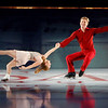 """ATLANTIC CITY, NJ - DECEMBER 11:  Jenni Meno and Todd Sand skates at 'A Salute to the Golden Age of American Skating""""  at Boardwalk Hall Arena on December 11, 2010 in Atlantic City, New Jersey.  () *** Local Caption *** Jenni Meno and Todd Sand"""