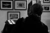 """Charles Kieny en improvisation lors d' un vernissage, offrant son inspiration au regard des photographies exposées.<br /> Site Web : <a href=""""http://www.charleskieny.com/"""">http://www.charleskieny.com/</a>"""