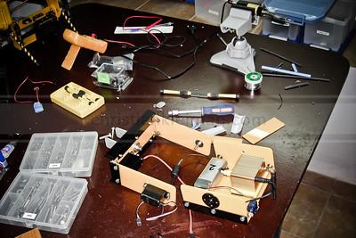 Development of the Pan-Tilt Camera Mount for 12 mts. Mast (2008)
