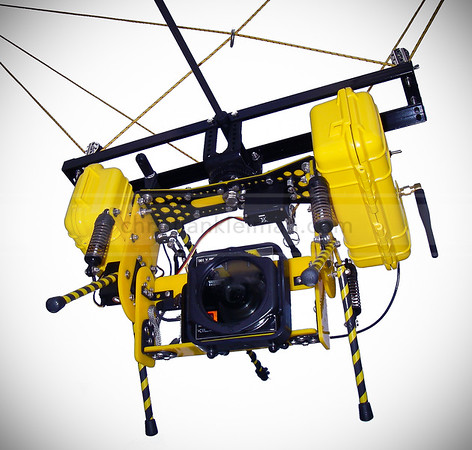Pan-Tilt Camera Mount for Helium Balloon - Kite & Parasail (2008)