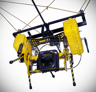 Pan-Tilt Camera Mount for Helium Balloon - Kite & Parasail (2008)