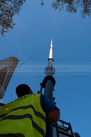 Pneumatic Mast 27 mts. (2009)