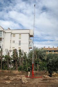 Pneumatic Mast 12 mts. (2010)