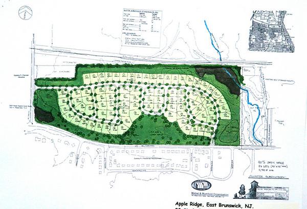 Apple Ridge Cluster Subdivision, East Brunswick, NJ, by Matzel & Mumford Org.