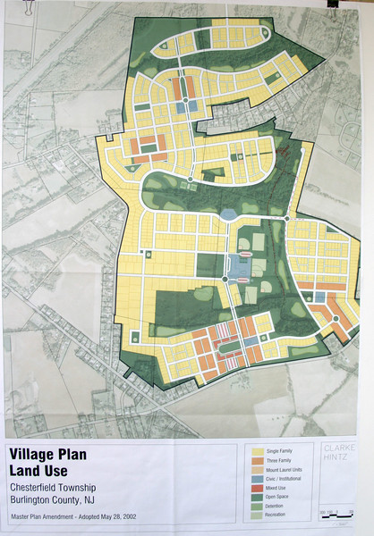 Municipal TND Masterplan for recieving area on township by Clarke Caton & Hintz