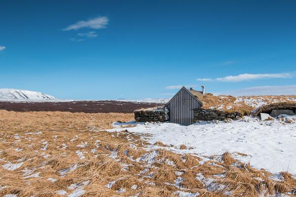 STORAGE HUT, ICELAND