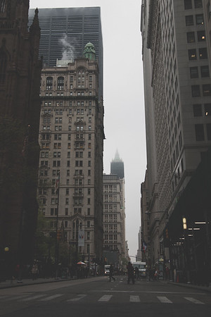 FOGGY MORNING, NYC