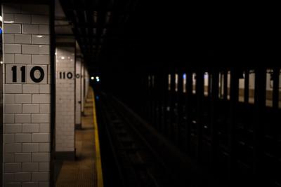 SUBWAY STOP, NYC