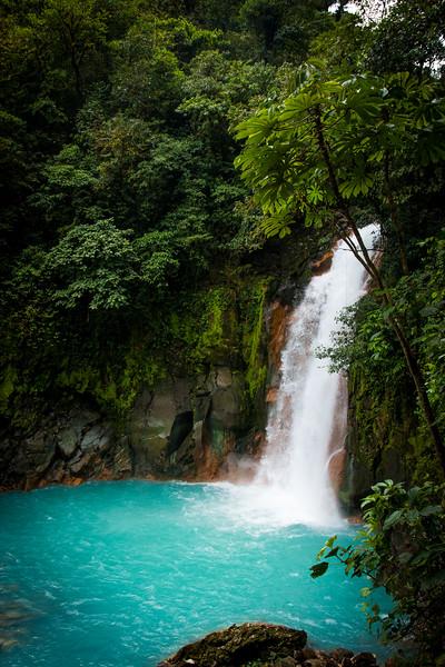 RIO CELESTED FALLS, COSTA RICA