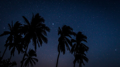 TROPICAL NIGHT SKY, COSTA RICA