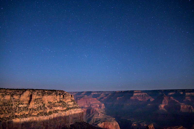 STAR GAZING, GRAND CANYON