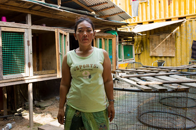 Ajeng(47) is working in Malaysia as building cleaner. Few years ago she lost her left eye because of it had been infected some virus. Total treatment cost was about RM 7,000(USD 2,000) but she couldn't able to paid that.