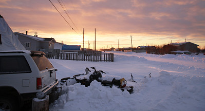 Street scene in Attawapiskat
