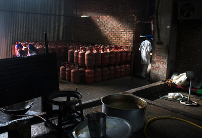 Community Kitchen which serves up to 100,000 people free meals every day at the temple –has switched from burning wood to cooking with gas after the environment study carried by IIT Delhi to control air-pollution.