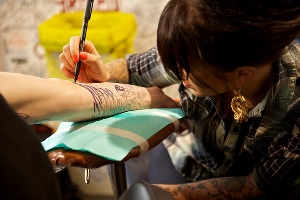 EXXXOTIC TATTOOS PARIS, 20th, Paris, France