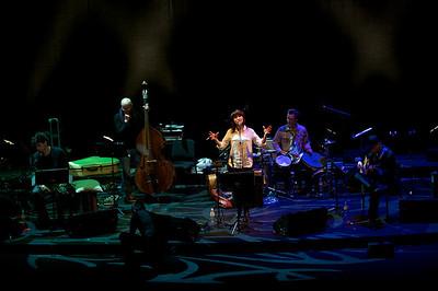 Youn Sun Nah concert in Théâtre du Châtelet