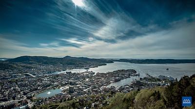 Bergen fra Fløyen